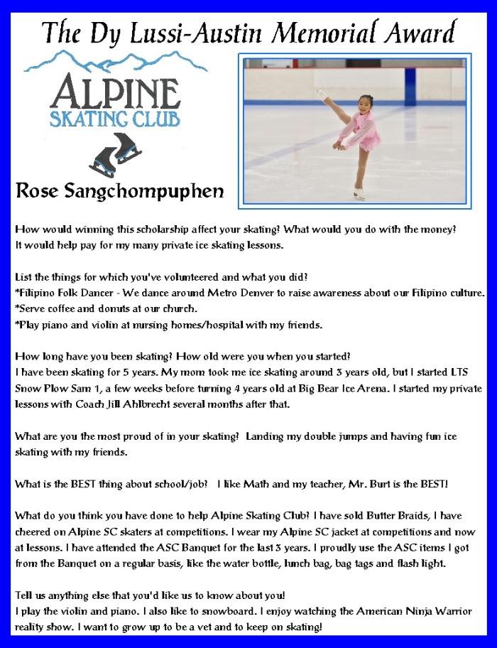 Dy Austin Award - Sangchompuphen 6-17
