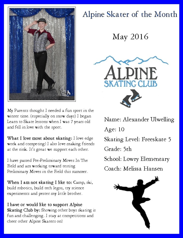 Ulwelling -Skater of the Monthe May 16